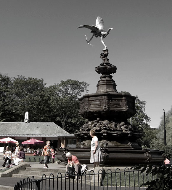 Eros & The Aviary Cafe, Sefton Park, Liverpool