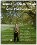 Turning Green to Brown exhibition