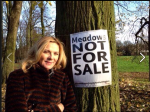 Kim Cattrell at Sefton Park Meadows