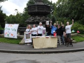 Campaigners out in Sefton Park